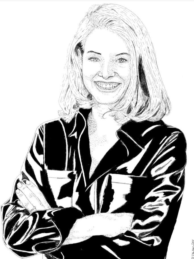 Jodie Foster par P.Tavarner